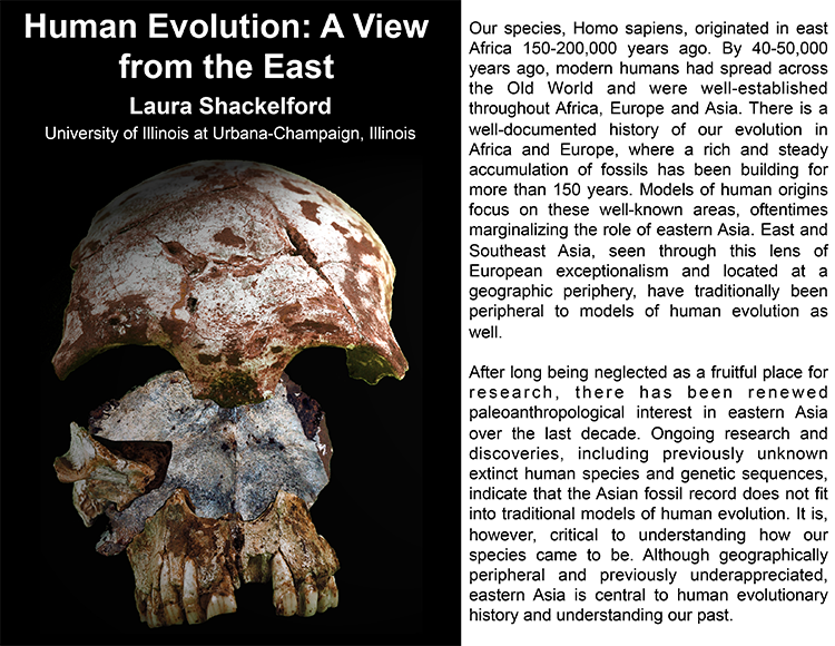 Plenary: HUMAN EVOLUTION: A VIEW FROM THE EAST